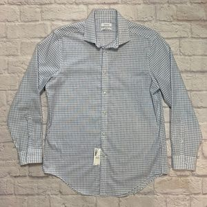 New Calvin Klein Slim Fit Button Up Dress Shirt 16